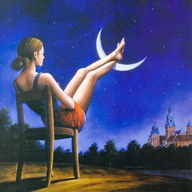 new-moon-rafal-olbinski