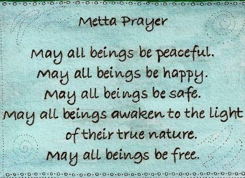 a metta prayer