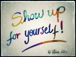 show up for yourself